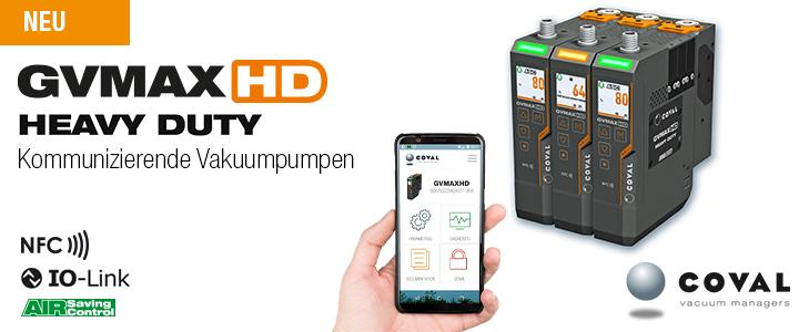 NEUHEIT: Vakuumpumpen - Reihe GVMAX HD